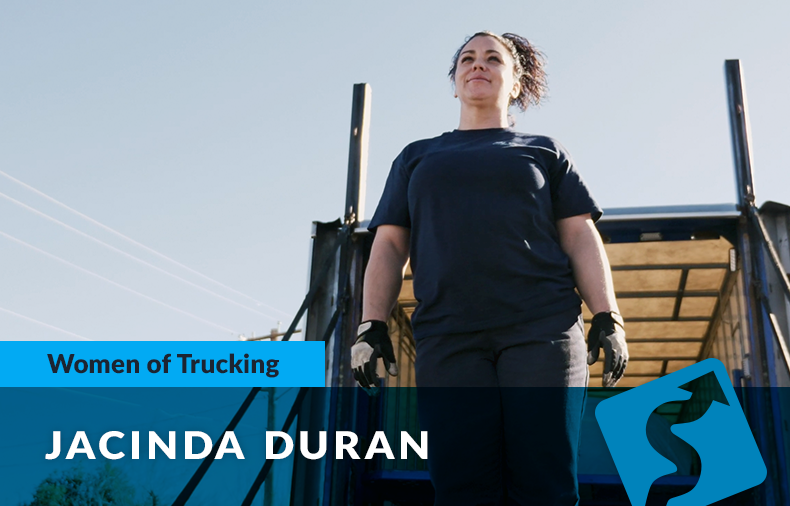 Third-Generation Lady Trucker Finds Dream Job in Long Haul